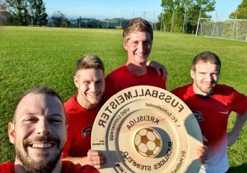Sieger in der Kreisliga Buckliges-Steinfeld